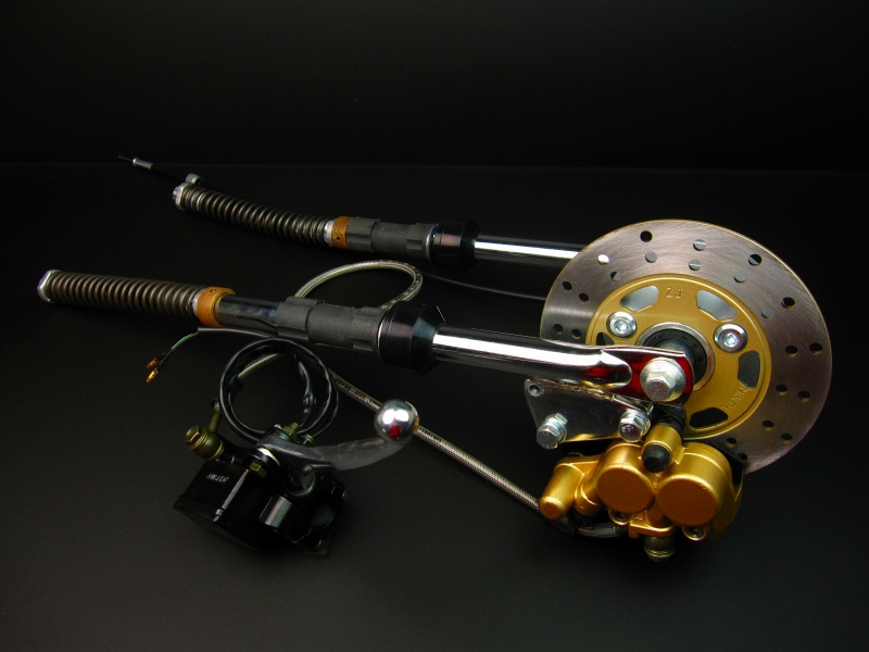 モンキー(MONKEY)/ゴリラ フロントサスペンションディスク用(5L)450mm MINIMOTO(ミニモト)