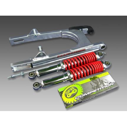 スイングアーム16cm+リアショック330mm レッド MINIMOTO(ミニモト) モンキー(MONKEY)
