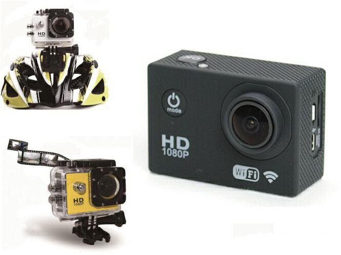 H264 フルHD スポーツビデオカメラ ブラック MAD MAX(マッドマックス)