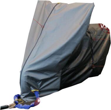 HMD-05バイクスーツ(バイクカバー)ver5 スクータ Lサイズ(ボックス付) MOTOPLUS(モトプラス)