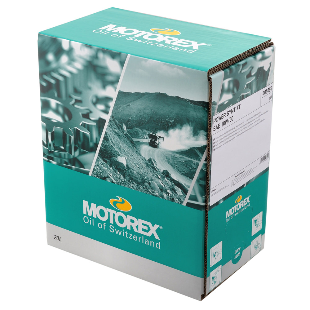 クロスパワー 4T 10W50 4サイクル用エンジンオイル 20リットル MOTOREX(モトレックス)
