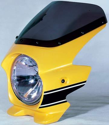 Nプロジェクト ブラスター2 STDスクリーンビキニカウル XJR1300 USインターカラー(レディッシュイエローカクテル1)