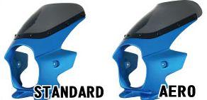 Nプロジェクト ブラスター2 STDスクリーンビキニカウル CB1000SF 白・黒ゲルコート