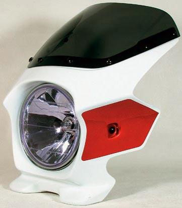 Nプロジェクト ブラスター2 STDスクリーンビキニカウル CB1300SF 03~ パールフェイドレスホワイト/キャンディアルカディアンレッド
