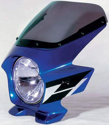 Nプロジェクト ブラスター2 エアロスクリーンビキニカウル CB1300SF 03~ キャンディタヒチアンブルー (ウイングライン)