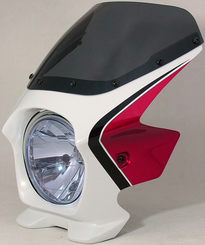 Nプロジェクト ブラスター2 エアロスクリーンビキニカウル CB1300SF 03~ パールサンビームホワイト/キャンディアルカディアンレッド/サイクロンブルーメタリック