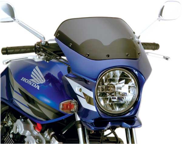 Nプロジェクト ブラスター2 エアロスクリーンビキニカウル CB400SF HYPER VTEC/Spec3 キャンディタヒチアンブルー (ウイングライン)