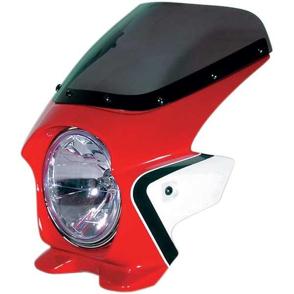 Nプロジェクト ブラスター2 エアロスクリーンビキニカウル CB400SF HYPER VTEC/Spec3 キャンディブレイジングレッド(ツートン)