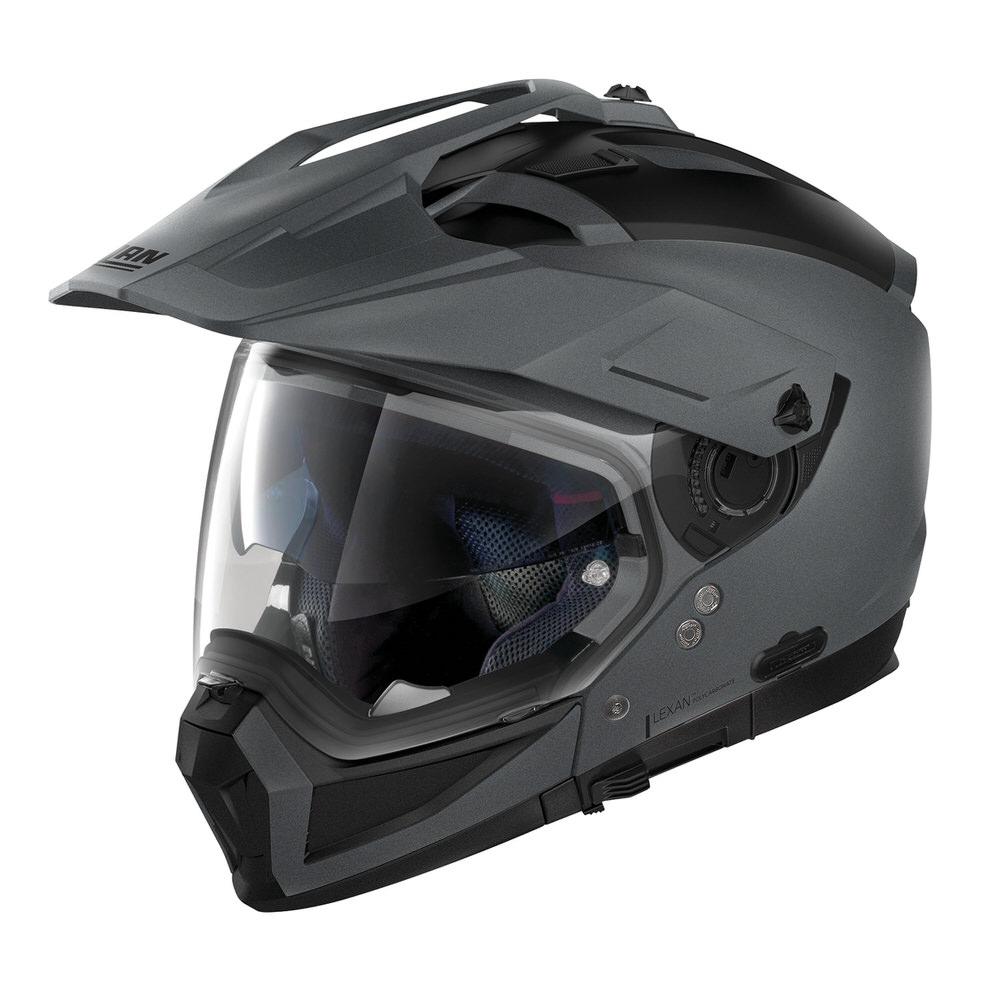 NOLAN N702X ソリッド フラットバルカングレー/2 Mサイズ(アドベンチャークロスオーバーヘルメット) NOLAN(ノーラン)