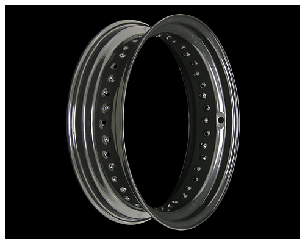 ブラックホイールリム 16×4.5in SV ラージホール NEO FACTORY(ネオファクトリー)
