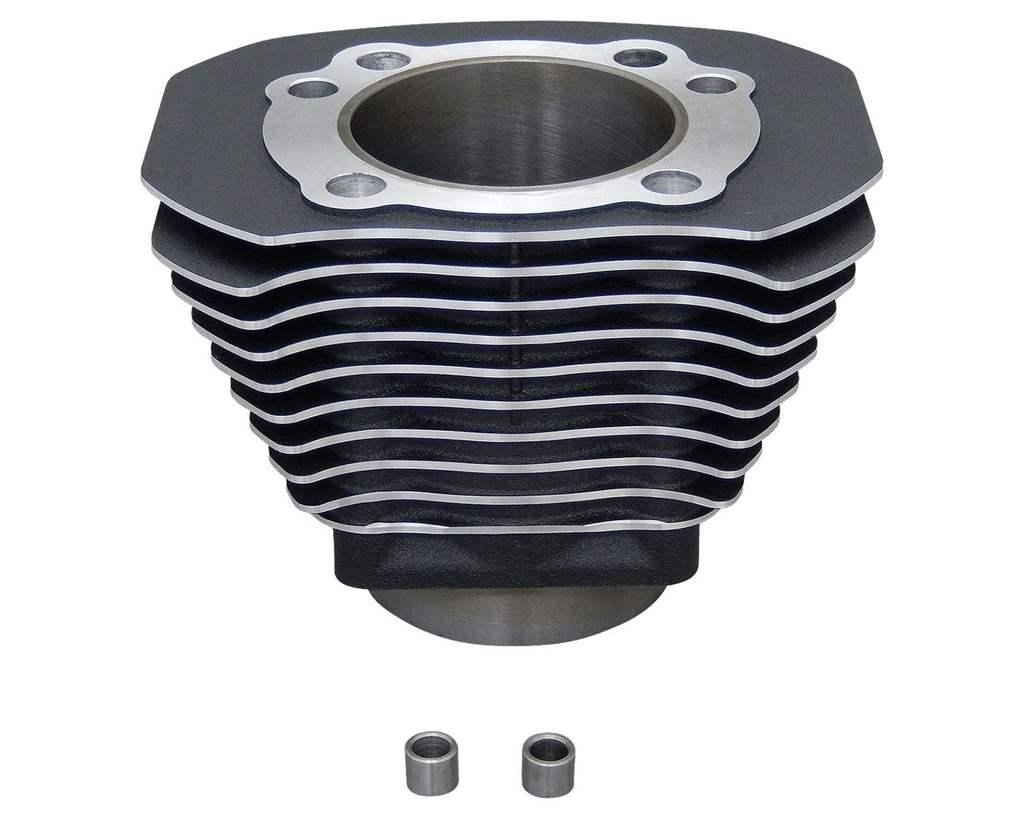 04年- XL1200cc用シリンダー ブラック ハイライトフィン NEO FACTORY(ネオファクトリー)