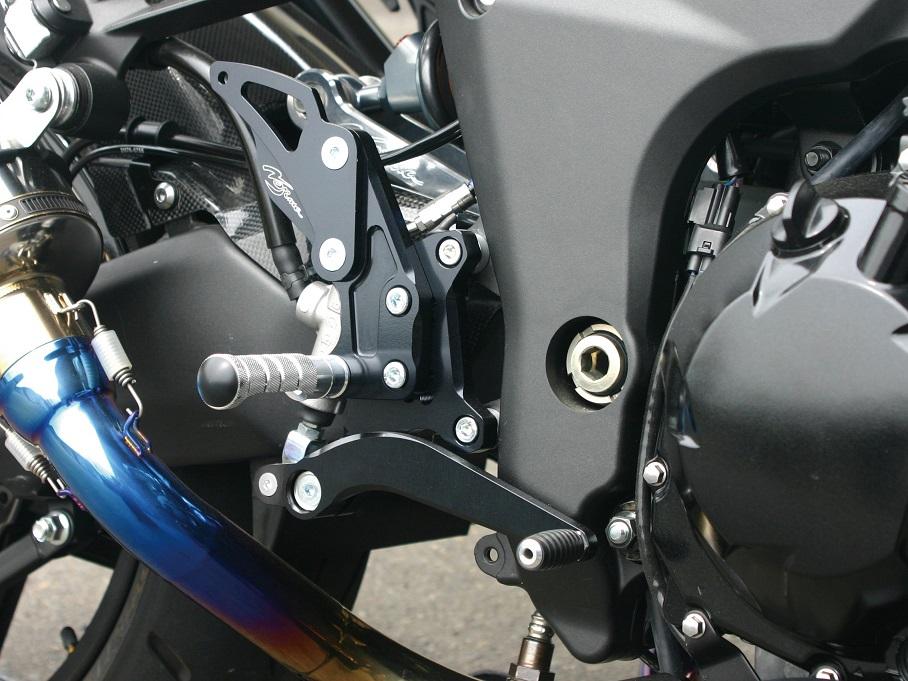 Ninja1000(ニンジャ)/ABS(11~14年) バックステップ 4ポジション ノジマエンジニアリング(NOJIMA ENGINEERING)