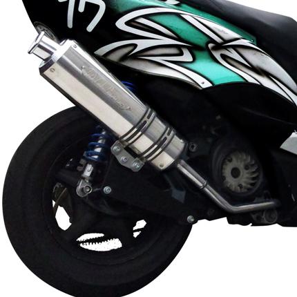 レッツ4(Let's5)4スト V-SHOCK Zマフラー 【Ecoプライスシリーズ】 O2センサージョイント付 NRマジック