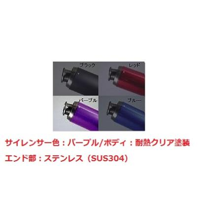 V-SHOCKカラー(C/PP)マフラー NRマジック ライブDio/ZX/J/S(AF34/AF35)