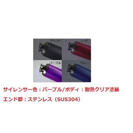 V-SHOCKカラー(C/PP)マフラー NRマジック アドレスV50/G ※O2センサー無の車体用