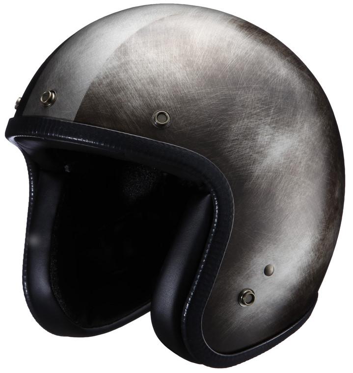 ジェットヘルメット Scratch Session NHL6-13 ブラック フリーサイズ(57-59cm) NIKITOR(ニキトー)