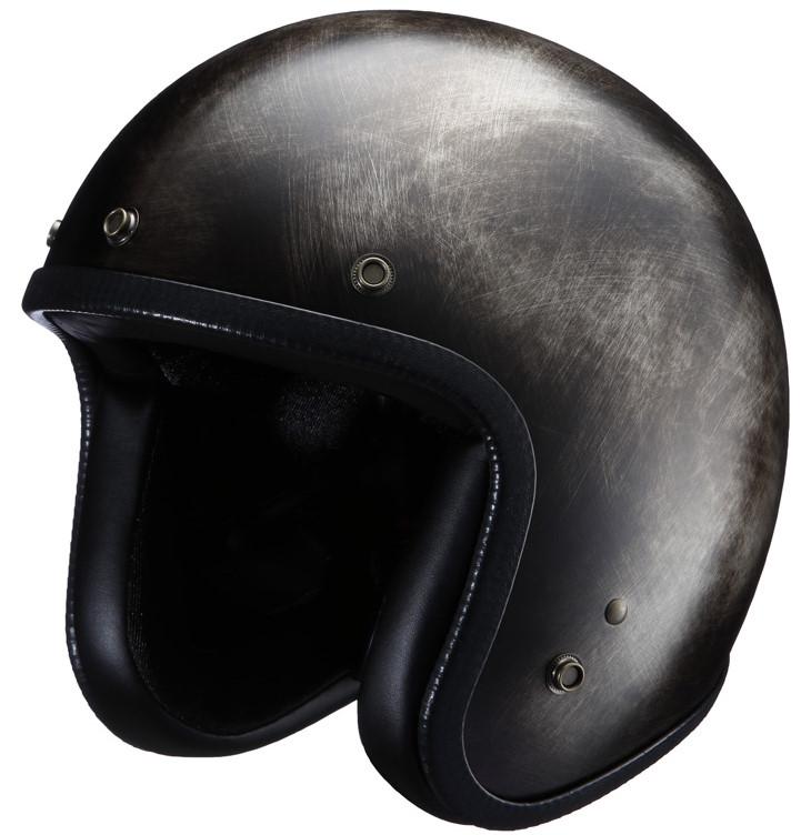 ジェットヘルメット Scratch Session NHL6-16 ブラック フリーサイズ(57-59cm) NIKITOR(ニキトー)
