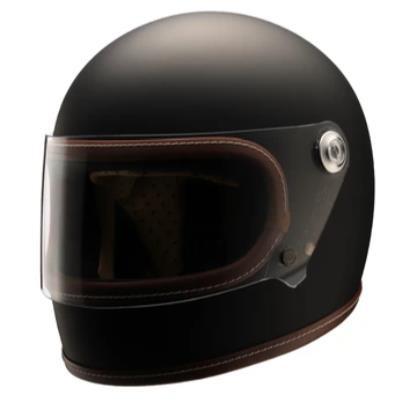 Retro-One ヘルメット フラットブラック Lサイズ NIKITOR(ニキトー)