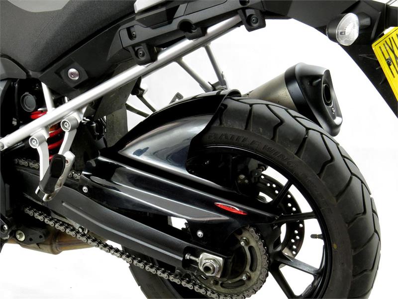 V-STROM1000(14年) Hugger メッシュド・インナーフェンダー (ブラック/ノンメッシュ タイプD) Powerbronze(パワーブロンズ)