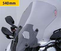 DUCATI Multistrada1200(13~14年) アドベンチャースクリーン ライトスモーク 540mm Powerbronze(パワーブロンズ)
