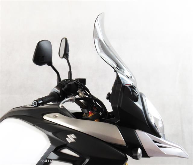V-STROM1000(14年) アドベンチャースクリーンM ライトスモーク 高390×巾410mm Powerbronze(パワーブロンズ)