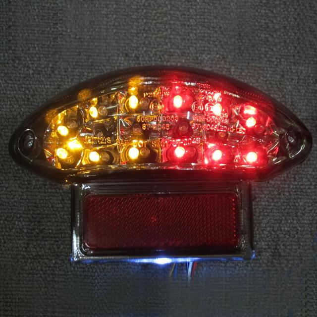 インテグレート・テールライト(ウィンカー内蔵式) ライトスモーク ODAX(オダックス) GSX1300R(隼)99~07年