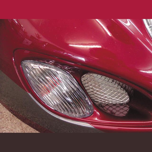 クリアウインカー・レンズセット フロント LEDバルブ付属 ODAX(オダックス) GSX1300R(隼)99~04年
