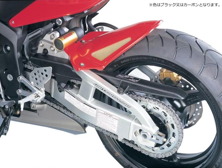 CBR600RR(03~04年) Hugger メッシュド・インナーフェンダー(ブラック/シルバーM タイプA) Powerbronze(パワーブロンズ)