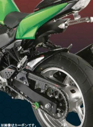 Z1000(07~09年) Hugger メッシュド・インナーフェンダー(ブラック/シルバーM タイプA) Powerbronze(パワーブロンズ)