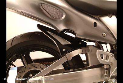 GSX1300R/隼(99~07年) Hugger メッシュド・インナーフェンダー(ブラック/シルバーM タイプA) Powerbronze(パワーブロンズ)