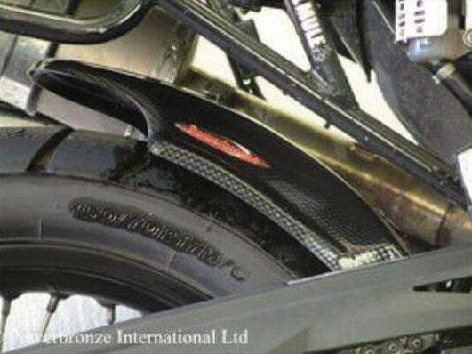 BMW F800GS(08~14年) Hugger メッシュド・インナーフェンダー(ブラック/ノンメッシュ タイプD) Powerbronze(パワーブロンズ)