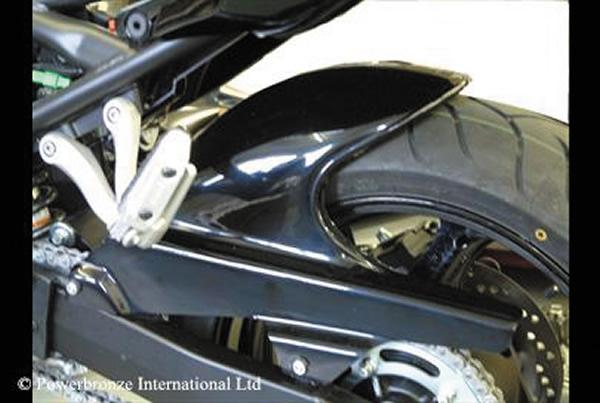 バンディット1250/S/F(07~14年) Hugger メッシュド・インナーフェンダー(ブラック/ノンメッシュ タイプD+C) Powerbronze(パワーブロンズ)