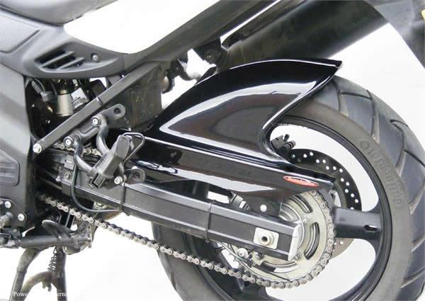 V-STROM650(11~14年) Hugger メッシュド・インナーフェンダー(ブラック/ノンメッシュ タイプD+C) Powerbronze(パワーブロンズ)
