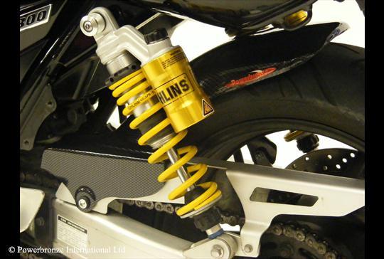 XJR1300(全年式) Hugger メッシュド・インナーフェンダー(ブラック/ノンメッシュ タイプD) Powerbronze(パワーブロンズ)