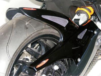 BMW F800R(09~14年) Hugger メッシュド・インナーフェンダー(ブラック/シルバーM タイプA+C) Powerbronze(パワーブロンズ)