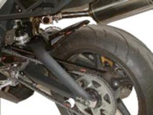 Triumph StreetTriple(08~12年) Hugger メッシュド・インナーフェンダー(ブラック/シルバーM タイプA) Powerbronze(パワーブロンズ)