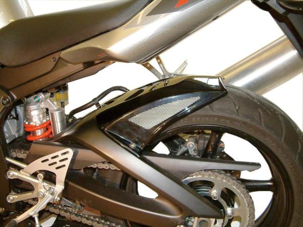 YZF-R6(03~05年) Hugger メッシュド・インナーフェンダー(ブラック/シルバーM タイプB) Powerbronze(パワーブロンズ)