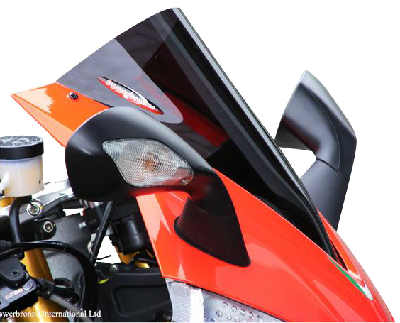 Aprilia RSV4 APRC/Factory(09年~) スポーツ・スクリーン (ダーク・スモークカラー/タイプA) Powerbronze(パワーブロンズ)