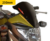 CB1000R(08年~) ネイキッド・スクリーン (ダーク・スモークカラー) Powerbronze(パワーブロンズ)