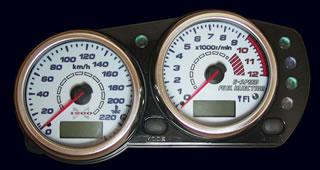 ELメーターパネル(09-11) ODAX(オダックス) ZRX1200 DAEG(ダエグ)