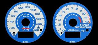 ELメーターパネル タイプI.N 220km/h ODAX(オダックス) ZRX1200 DAEG(ダエグ)