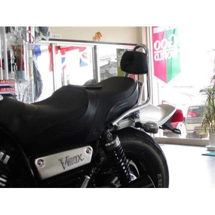 V-MAX バッグレスト付きシーシーバー クロームメッキ レンテック(RENNTEC)