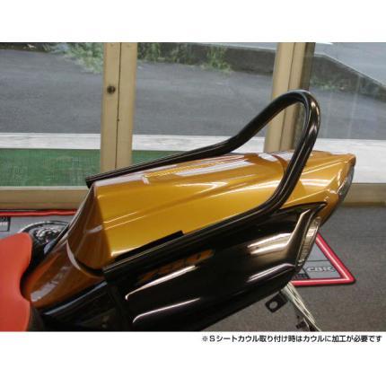 GSX-R750 K-6 グラブレール スチール製 ブラック レンテック(RENNTEC)