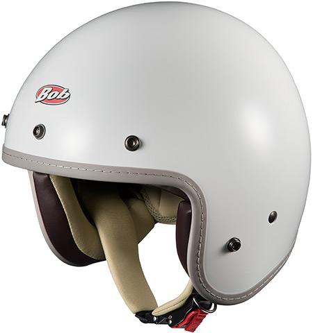 BOB-Z(ボブ-Z)ホワイト 57~59cm ジェットヘルメット OGK