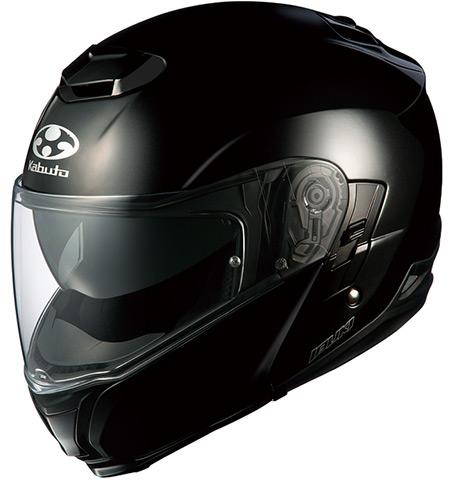 IBUKI(イブキ) ブラックメタリック M(57-58cm) システムヘルメット OGK