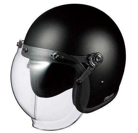 ROCK(ロック)フラットブラック(57-59cm)ジェットヘルメット OGK