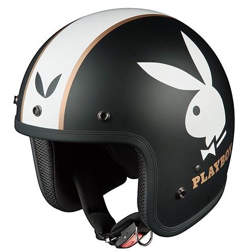 FOLK PLAYBOY(フォーク・プレイボーイ)フラットブラック-1 フリーサイズ ジェットヘルメット OGK