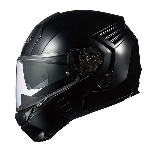 KAZAMI(カザミ)ブラックメタリック Sサイズ システムヘルメット OGK