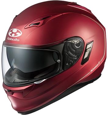 カムイ2 フルフェイスヘルメット フラットレッド XL(61-62cm未満)サイズ OGK