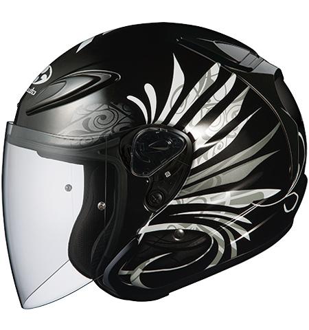 アヴァンド2 エルビー ジェットヘルメット ブラックメタリック Mサイズ OGK